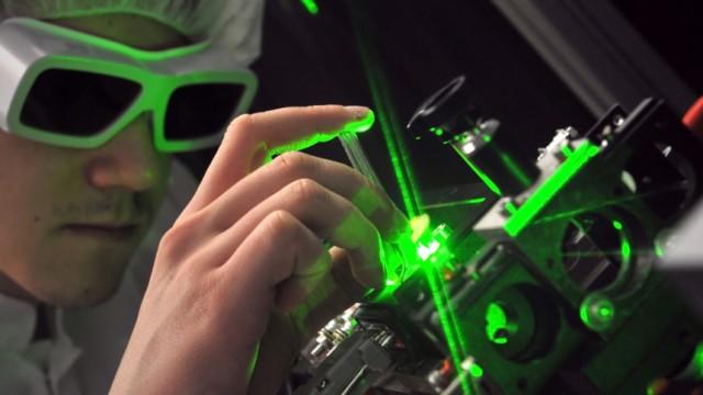 Laseranlagen von Jenoptik