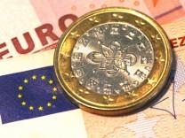 Euro auf Vier-Monats-Tief