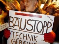 Proteste gegen 'Stuttgart 21'
