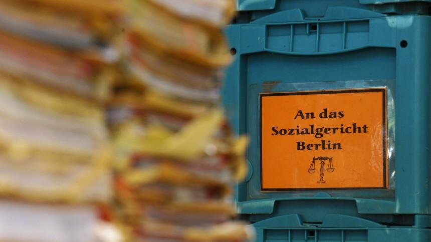 Neuer Rekord an Klagen gegen Hartz-IV-Bescheide am Berliner Sozialgericht