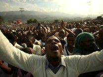 Year After Earthquake In Haiti, The Impoverished Country Continues To Struggle With Rebuilding