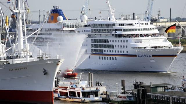 Kreuzfahrtschiff 'MS Europa'