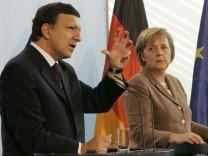 Angela Merkel, Jose Manuel Durao Barroso