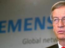 'Spiegel': Ex-Siemens-Vorstand wusste schon 2003 von schwarzen Kassen