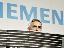 Siemens - Bilanz-Pressekonferenz 2008