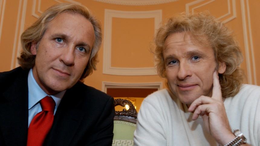 Thomas und Christoph Gottschalk, 2003