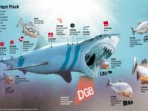 Gewerkschaften/Hai