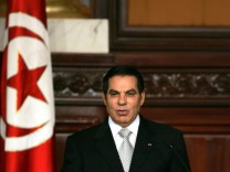 Tunisian President Zine El-Abidine Ben Ali