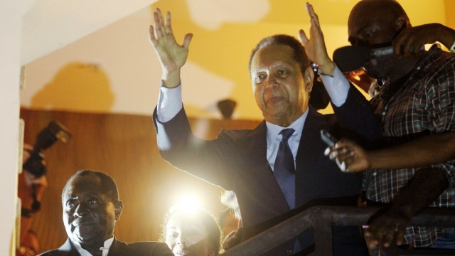 'Baby Doc' Duvalier Returns To Haiti After 25 Years In Exile