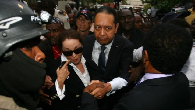 EX-HAITI DIKTATOR 'BABY DOC'  Duvalier