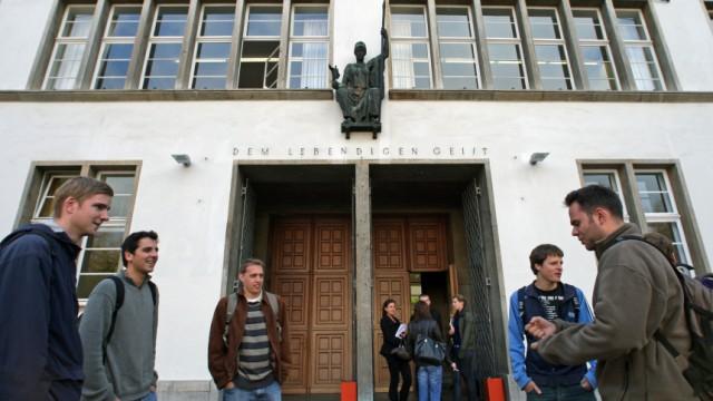 Studenten an der Uni Heidelberg