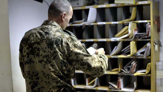 Feldpost in Afghanistan
