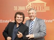 Pressekonferenz zu 30 Jahren Musikantenstadl