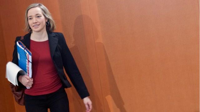 Kabinettssitzung - Kristina Schröder