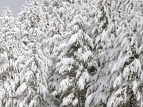 Schnee im Norosten Spaniens