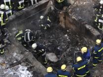 Einfamilienhaus in Germering explodiert