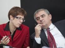 Kramp-Karrenbauer soll saarlaendische Ministerpraesidentin werden