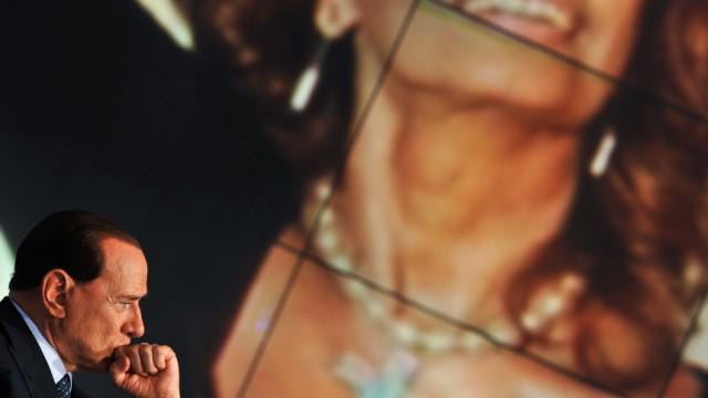 Silvio Berlusconi Berlusconi und die Prostitutionsaffäre