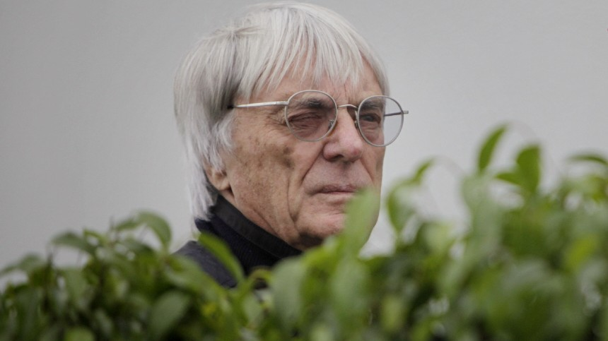 Formel 1 - GP Brasilien - Bernie Ecclestone