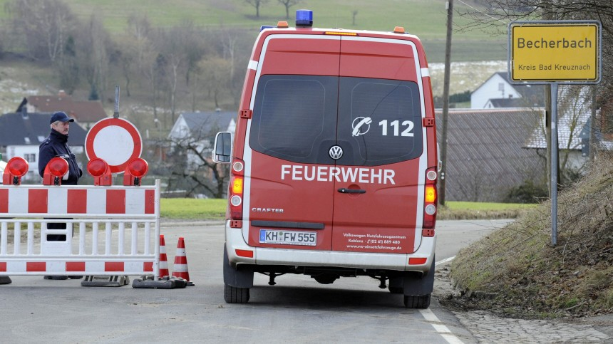Sprengstofffund in Becherbach