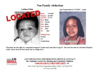 Carlina White missing poster