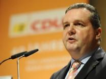 Festakt zum 40-jaehrigen Bestehen des CDU-Landesverbands Baden-Wuerttemberg