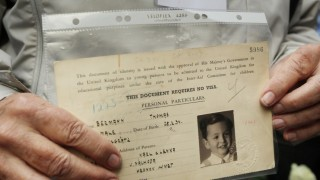 The Surviving Winton Children Commemorate Their War Time Evacuation