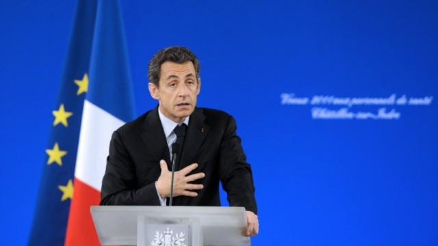 FRANCE-SARKOZY-WISHES-HEALTH