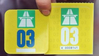 Autobahnvignetten 2003