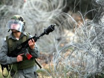 Protest gegen israelische Sperranlage