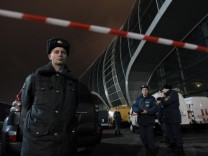 Bomb explosion in Domodedovo airport in Moscow