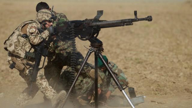 German Bundeswehr On ISAF Deployment In Afghanistan