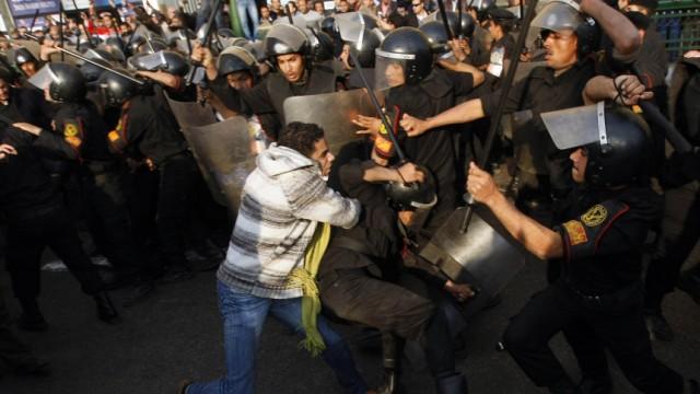 Ägypten Proteste gegen Präsident Mubarak