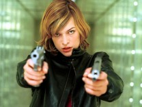 "Milla Jovovich in dem Film ""RESIDENT EVIL - GENESIS"""