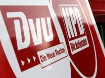 Fusion von DVU und NPD vorerst gestoppt