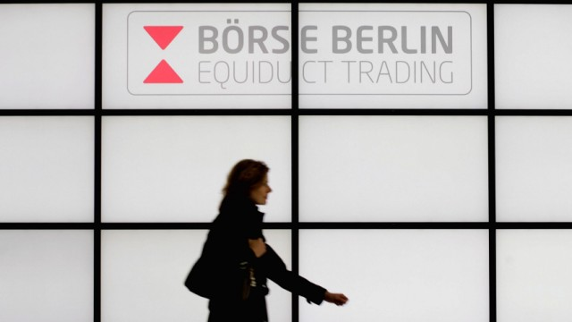 Verbesserter Verbraucherschutz soll der defizitaeren Boerse Berlin zurueck in die schwarzen Zahlen helfen
