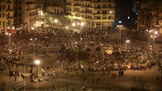 Anti Government Protesters Take To The Streets In Cairo