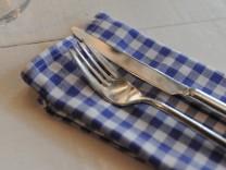 """Italienisches Restaurant """"La Baracca"""" in München, 2010"""