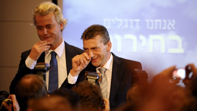 Niederlaendischer Rechtspopulist Wilders in Berlin