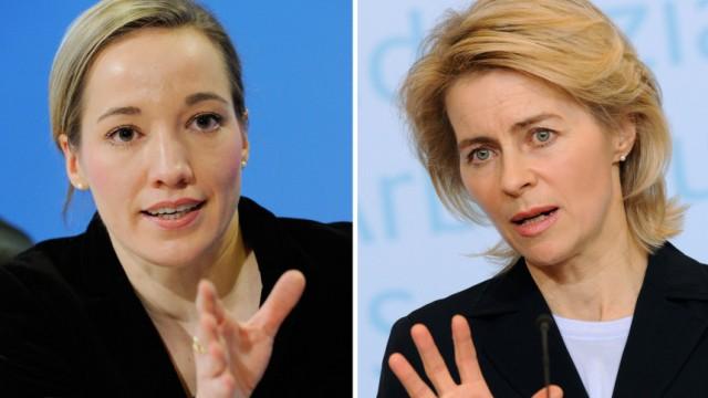 Frauenquote - Köhler und von der Leyen