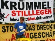 Atomkraftwerk Krümmel, Demonstration, dpa