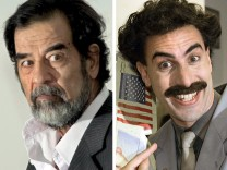 "´Borat"" Baron Cohen spielt Saddam Hussein"