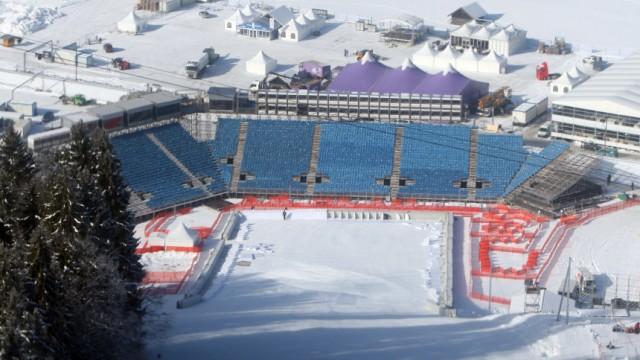 Ski alpin-WM - Vorbereitungen