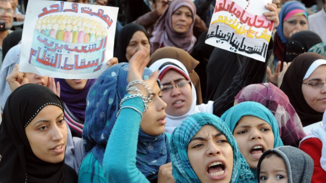 Proteste in Ägypten Krise in Ägypten