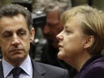 Nicolas Sarkozy, Angela Merkel