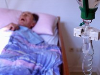 Sterbender im Hospiz