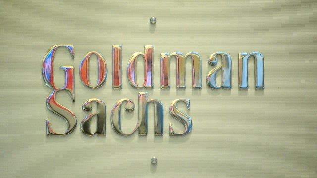 New York Stock Exchange Goldman Sachs
