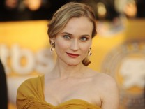 Actress Diane Kruger arrives at the 16th annual Screen Actors Guild Awards in Los Angeles