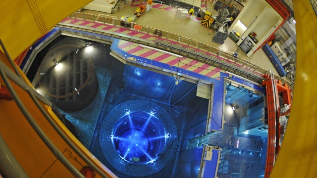 Atomenergie Radioaktiver Abfall