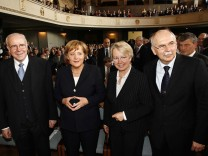 Merkel trifft neuen DFG-Praesidenten